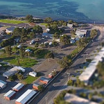 Tumby Bay Caravan Park From The Air