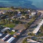 Tumby Bay Caravan Park From The Air
